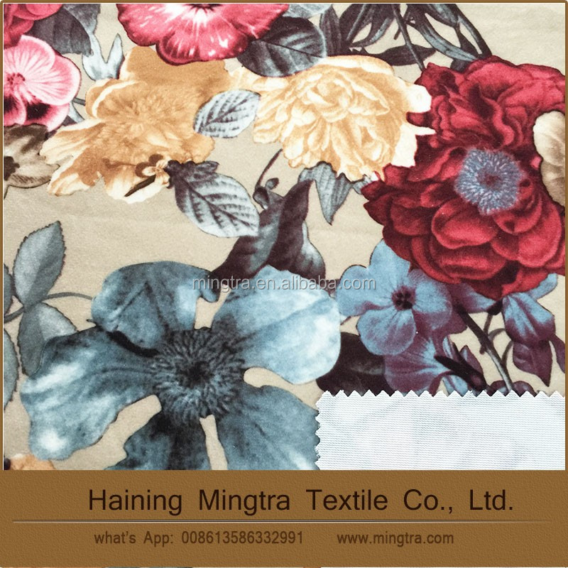 wholesale chinese products 100% Polyester textile fabric printing