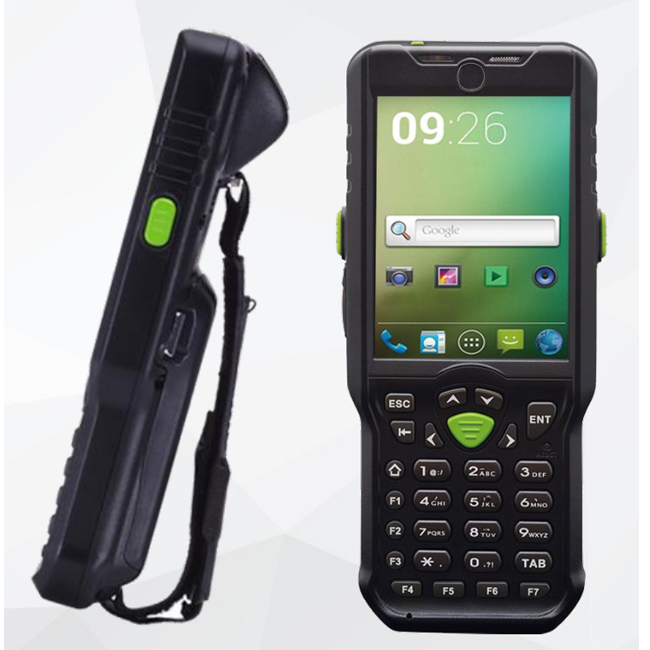 Android Rugged PDA 3800mAh Battery High Quality Handheld barcode scanner OBM-A33 Model