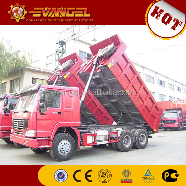 Popular Howo used man diesel tipper truck for sale