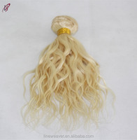 Unprocessed Double weft Human Hair Extensions 100%Brazilian Hair Remy Human Hair jerry curl 613 color