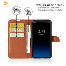 Lightweight Wallet Credit Car Holder Stand PU Leather Phone Case Pouch For Samsung Galaxy S8 Cover