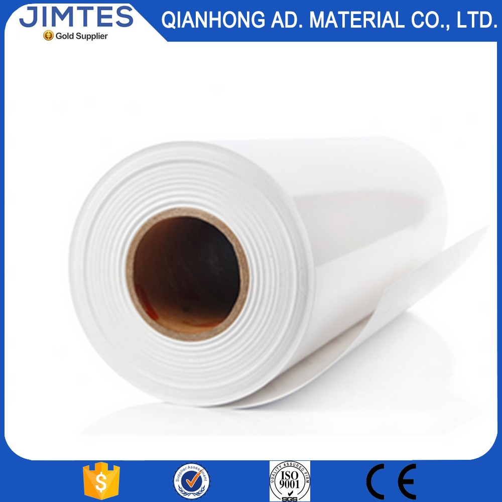 Jimtes 210g pe coated sticker glossy photo paper roll with self adhesive
