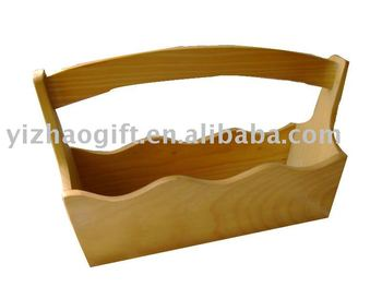 hot selling luxury simple wood box handle
