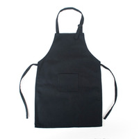 BBQ Aprons Customized Print Apron 100% Cotton Black Apron
