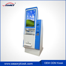 32 Inch IR touch automatic payment terminal, information advertising all in one kiosk