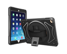 Rotating Kickstand and Leather Strap Universal Tablet Case For iPad mini 4 Cover