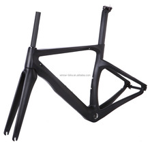 Winow new product aero carbon road bike frame carbon fibre road cycling racing bicycle frameset taiwan bike AERO ROAD bike frame