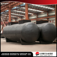 Humanized structure design liquid chlorine storage tank
