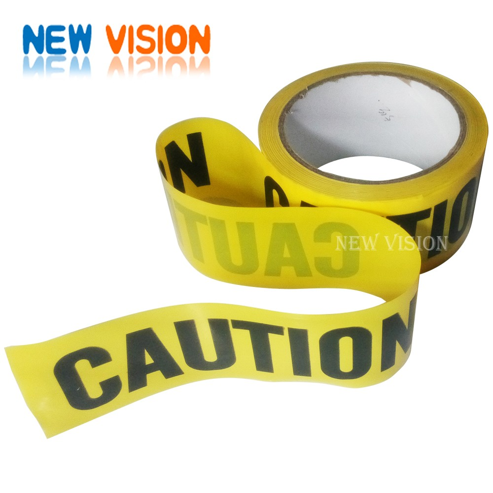 OEM Custom Printed Non Adhesive PE Warning Tape Safety Caution Tape
