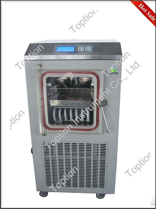 China freeze drying equipment prices pilot size drying machine TPV-10F Ordinary Type Vacuum Freeze Dryer on promotion
