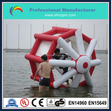 funny inflatable water games,inflatable water wheel water toy