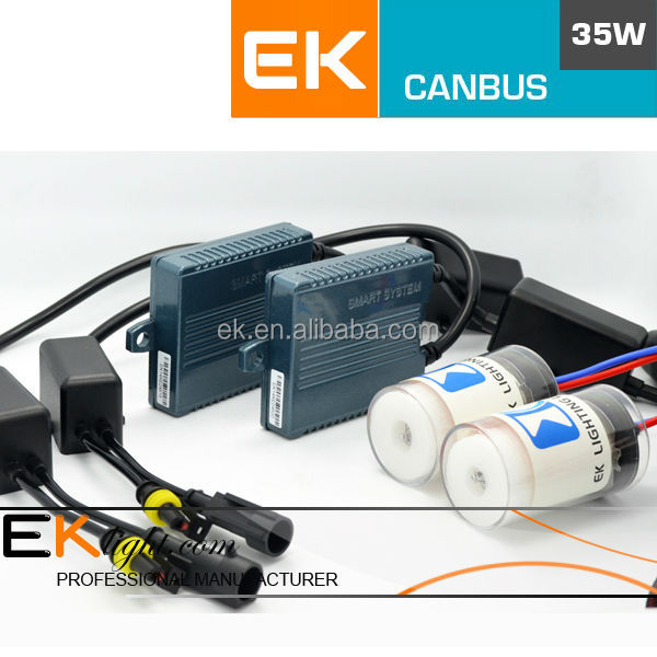 ASIC smart canbus ballast hid xenon kit electric motorcycle conversion kits