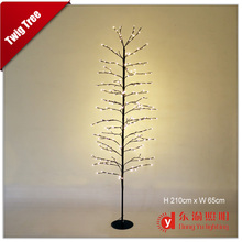 Star Tree White Branches With Warm White Lights,Led Twig Tree,Artificial Christmas Tree