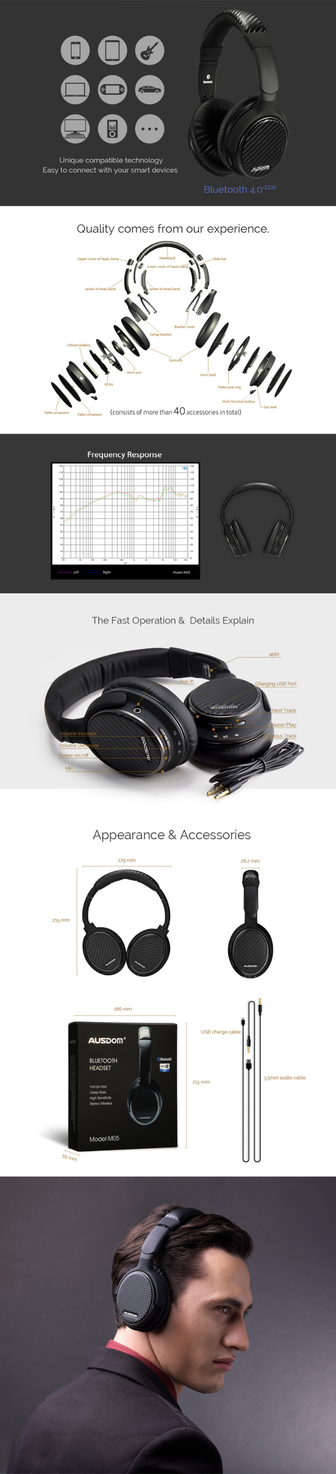 2016 free sample headphone case metal for iphone sport wireless bluetooth headset factory price