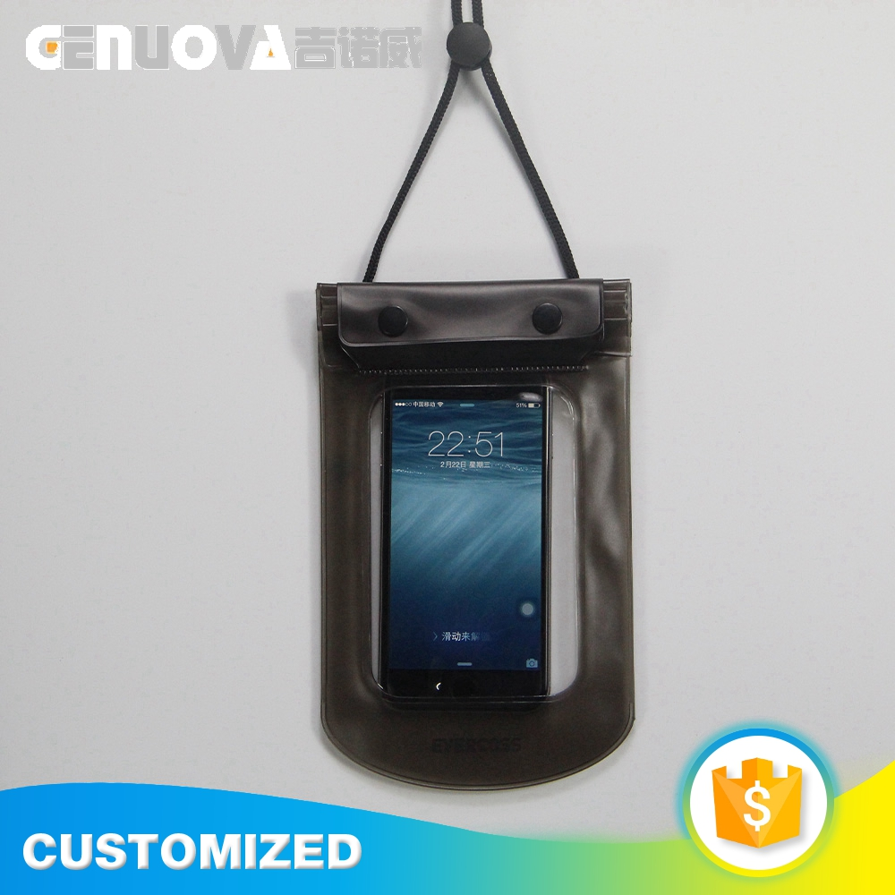 Wholesale stylish design plastic waterproof phone bag for water sport
