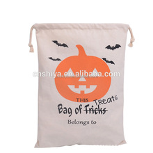 Latest Halloween drawstring bag 2016 New Arrival Halloween Pumpkin Gift Bag,Halloween sack Drawstring Gift Bag
