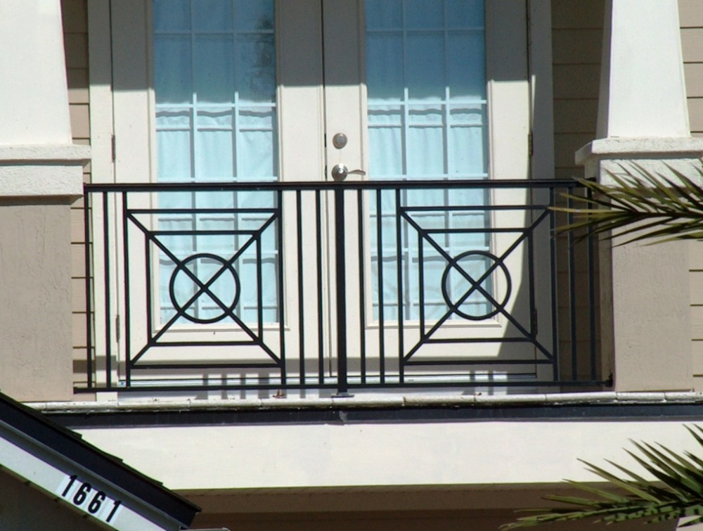 railings cable tension/balcony steel railings/balcony railing modern