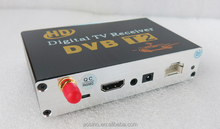 Cheap price HD Car DVB-T2 Digital TV Receiver box with one tuner fit for Russia, Thailand, Colombia, Indonesia, Singapore TV Box