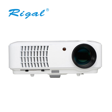 HD support 1080p digital mini led projector for home entertainment