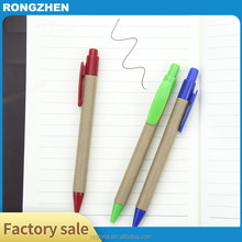 New promotion custom logo ball pens advertising eco friendly pens