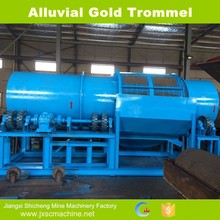 China supplier machinery manufacturer alluvial gold sorting washing plant