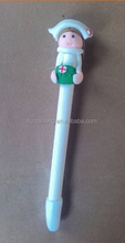 CH-6719 Christmas gifts pen here! Polymer Clay Pen (OEM LOGO Printing is available)