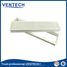 Wall amount rainproof aluminum linear slot diffuser grille