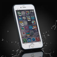 Hot product IPX8 Certified universal custom PVC cell phone Waterproof case for iPhone 5 6 6p
