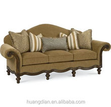wholesale furniture manufacture in China French style fabric sofa