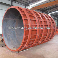 tunnel circular column steel formwork for column