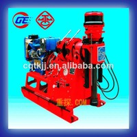 China High-efficient XY-2B hydraulic electric motor Small water well rotary drilling rig