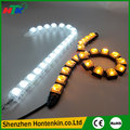2pcs White 20LED Long Strip Daytime Running Light DRL Car Fog Day Driving Lamp