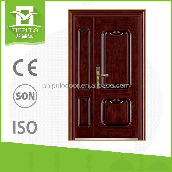 hot design mother and son steel gate door for the prefab house