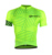 Custom Bicycle Jerseys for pro cycling team, Men fluorescent green short sleeve set jersey cycling