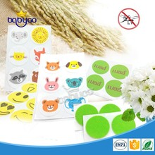 Top 10 quality cartoon printed mosquito repellent patch for baby
