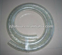 PVC Transparent Spring Pipe Steel Wire Reinforced Hose