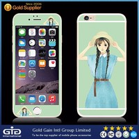 [GGIT] FashionableTempered Glass for Mobile Phone,for iPhone 6 Color Full Cover Tempered Glass Screen Protector