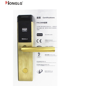 Honglg electronic hotel room card lock system