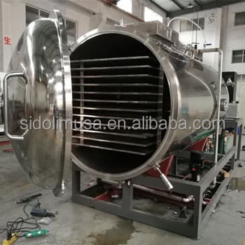 10 square meter freeze dried food machine , freeze dryer china