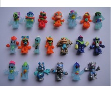 Hot selling Alien capsule toy action figure promotion gift cartoon toys for kids mix items