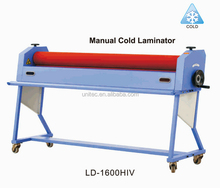 Hot sale 1600mm Manual cold laminating machine LD-1600HIV