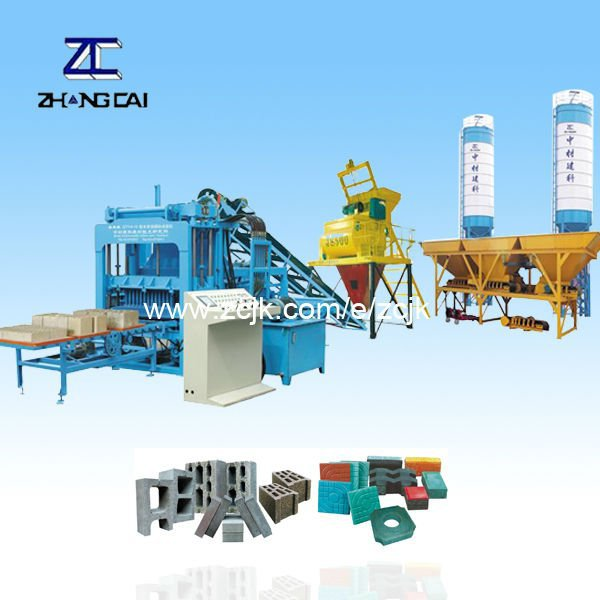 ZCJK4-15 investment in ethiopia block making machine