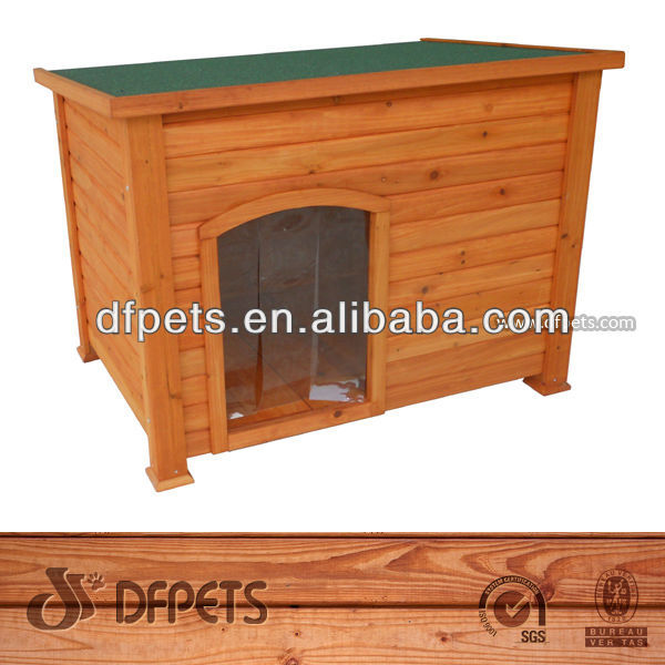 Dog House With Waterproof Roof, Easy Assembly DFD025