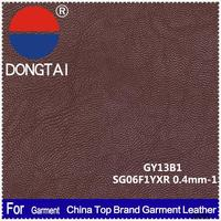 2015 wholesale artificial leather for garments genuine Factory direct sale