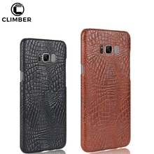 Luxury Crocodile PU Leather Skin PC Cell Phone Case Back Cover For Samsung Galaxy J3 J5 J7 2017 Max Nxt Note8 S8 Plus C5 Pro A7