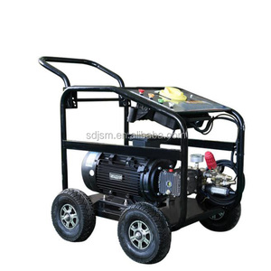 High Pressure Diesel Engine Water Cleaner 250bar 10HP Portable High Pressure Washer