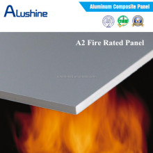 Incombustible A2 grade aluminum composite panel