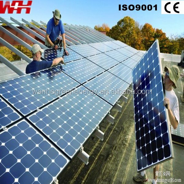 Import powerful 250 watt monocrystalline photovoltac solar panel
