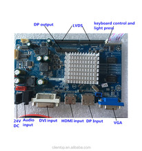 MHD7021DX LCD monitor controller board support 2560*1600 and 1920*1080 resolution screen with lvds and eDP interface