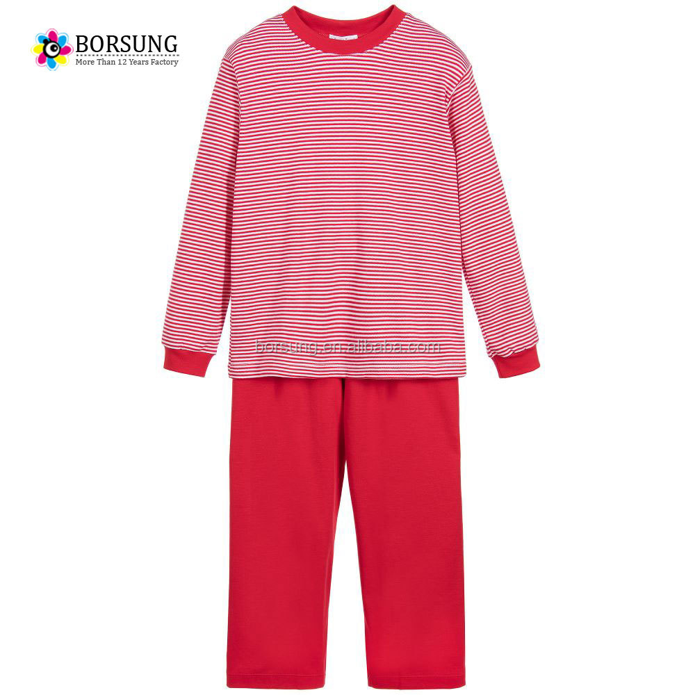 2017 autumn and winter baby clothes children's cotton thermal clothing kids christmas pajamas